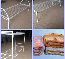 Металлические  кровати эконом - Мебель для спальни в Армянске
