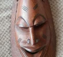 Маска из дерева - Антиквариат, коллекции в Бахчисарае
