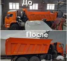 Металлоконструкции и ремонт и наращивание бортов самосвальных кузовов - Строительные работы в Симферополе