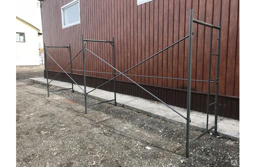 Изготовим строительные леса из проф трубы по Вашим размерам. - Лестницы в Севастополе