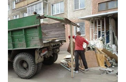 Вывоз, вынос строительного мусора, хлама, старой мебели, спиленных деревьев, старой листвы и т.д. - Вывоз мусора в Севастополе