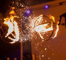 Огненное фаер шоу, аниматоры, артисты на Новый год, вечеринку, свадьбу, корпоратив, мероприятие - Свадьбы, торжества в Евпатории