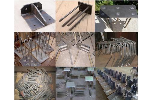 Закладные детали,армокаркасы , крепления для башенных кранов, нестандартные металлоконструкции - Услуги в Севастополе
