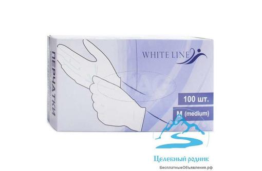 Перчатки виниловые M (50 пар) - Косметика, парфюмерия в Черноморском