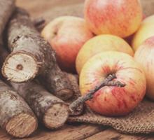 Дрова от фруктовых деревьев - Твердое топливо в Евпатории