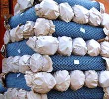 Сетка Рабица оцинкованная в рулонах оптом и в розницу с доставкой - Заборы, ворота в Старом Крыму