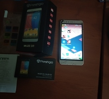 "Смартфон 4-х ядер Prestigio Muze D3\5.5""\коробка - Смартфоны в Евпатории"