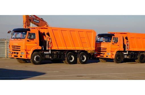 Вывоз мусора техника до 22 кубов самосвалы - Вывоз мусора в Севастополе