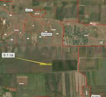Продается недорого земельный участок 9,1 га. недалеко от села Кировское - Участки в Черноморском