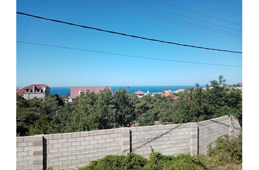 Участок на Фиоленте с видо на море, фото — «Реклама Севастополя»