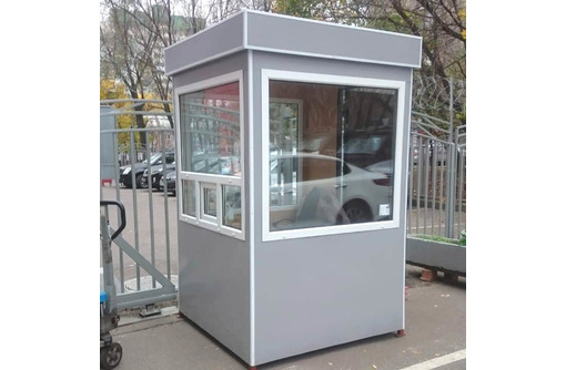 Пост охраны 1,5х1,5х2,5м, новый, утепленный - Продажа в Севастополе