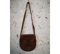 Кожаная дамская сумка на длинном ремне, стиль хиппи, б/у - Сумки в Севастополе