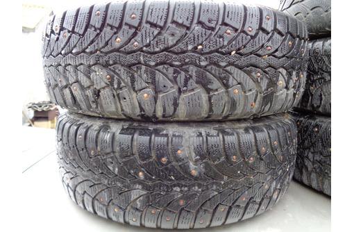 Продам колеса (зима,шип) 185Х60 R14 4Х114.3. - Для легковых авто в Саках