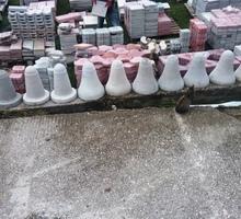 Парковочные столбики и полусферы из бетона от производителя - ЖБИ в Симферополе