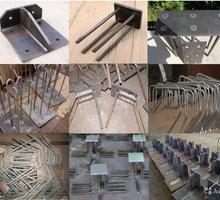 Закладные детали, армокаркасы , нестандартные конструкции Гиб до 10мм 3 м, рубка до 25 мм 3м - Металлические конструкции в Севастополе