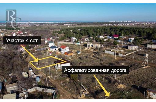 Ровный участок 4 сот в СТ Гидротехник, фото — «Реклама Севастополя»