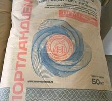 Цемент Новороссийский по оптовым ценам - Цемент и сухие смеси в Крыму
