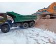 Продажа, доставка сыпучих грузов: песок, щебень. Вывоз строительного мусора, грунта в Севастополе, фото — «Реклама Севастополя»