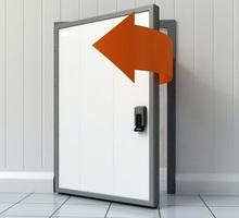 Двери для Морозильных Холодильных Камер Камер Заморозки - Продажа в Ялте