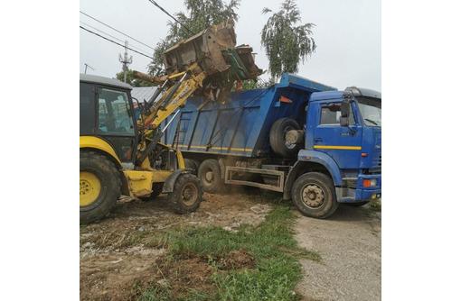 Вывоз мусора с Дачи, огорода, гаража, квартиры и т. д. Услуги грузчиков. - Вывоз мусора в Севастополе