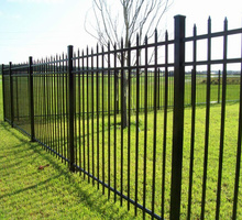 Забор ,ограждения из металлических секций. Любые исполнения, под Ваши размеры и ландшафт. - Заборы, ворота в Севастополе