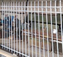 Решётки ограждения ворота лестницы нестандартные металлоконструкции. Гиб до 12мм 4м рубка, 28мм 3м - Металлические конструкции в Севастополе