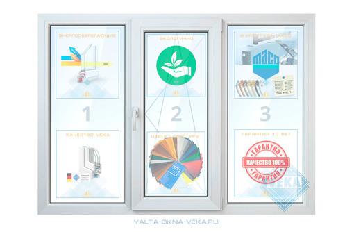 Фирменные окна VEKA от производителя. Гарантия 10 лет, качество VEKA - Окна в Алуште