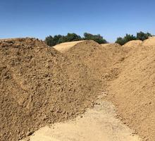 Сыпучие стройматериалы: песок, щебень, тырса по низким ценам в Саках – выгодно! - Сыпучие материалы в Крыму