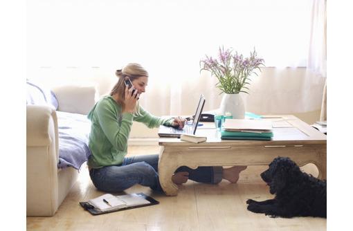 Консультант-оператор/работа дома, фото — «Реклама Севастополя»