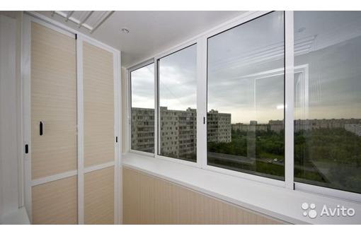 Остекление балконов/лоджий ПВХ VEKA от производителя, официальная гарантия 10 лет, договор - Балконы и лоджии в Севастополе