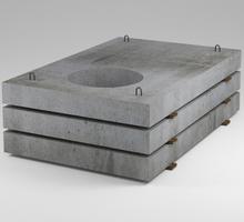 Плита опорная ПО-2 с отверстием d 700 - ЖБИ в Симферополе