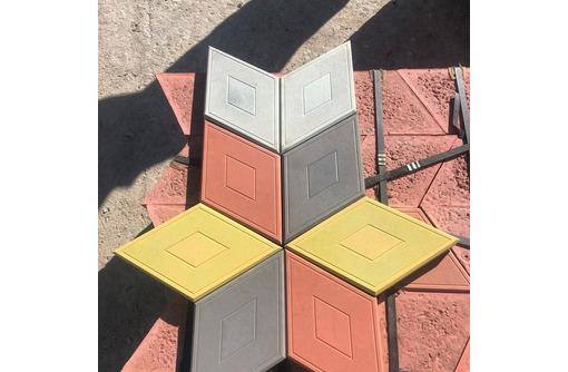 """Тротуарная плитка """"Ромб"""" 3D-эффект. Доставка. Наличие. - Кирпичи, камни, блоки в Алуште"""