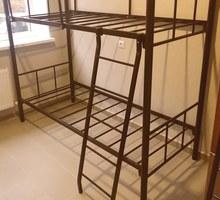 Кровати на металлокаркасе, двухъярусные, односпальные для хостелов, гостиниц, рабочих, баз отдыха - Мебель для спальни в Ялте