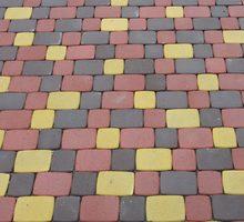 "Тротуарная плитка ""Старый город"". Доставка манипулятором - Кирпичи, камни, блоки в Ялте"