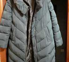 Добротная ярко тёмно-зелёная зимняя куртка,новая - Женская одежда в Крыму