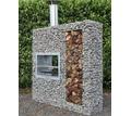 Кухня во дворе, барбекю, камин, мангальная зона - Металлические конструкции в Симферополе