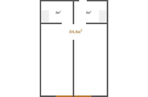 Апартаменты на 10 этаже площадью 84,4 кв.м. в комплексе «Золотые пески», фото — «Реклама Евпатории»