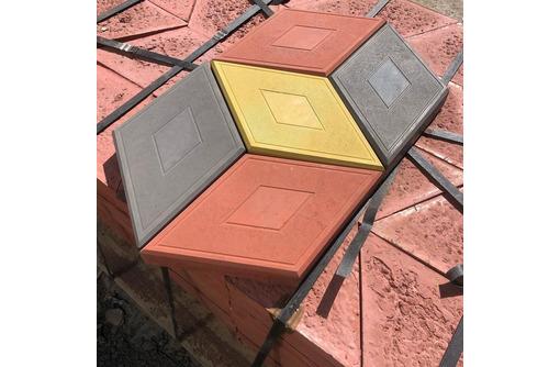 """Плитка """"ромб"""" 3D-эффект. Доставка. Наличие на складе. - Кирпичи, камни, блоки в Алуште"""