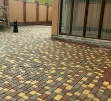 """Тротуарная плитка """"Старый город"""" в наличие на складе - Кирпичи, камни, блоки в Евпатории"""