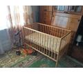 Детская кроватка для новорожденных с матрасиком из кокосовой стружки - Детская мебель в Севастополе