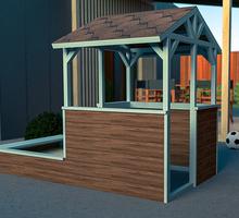Игровой домик с песочницей. - Садовая мебель и декор в Севастополе