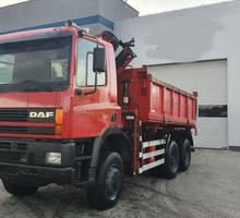 Водитель на самосвал DAF 85 - Автосервис / водители в Евпатории