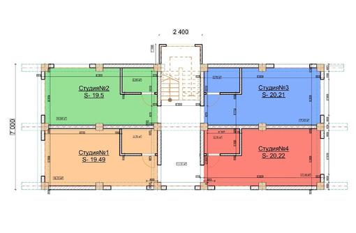 Студия 20 м², 1/3 эт. на Н. Музыки - Квартиры в Севастополе