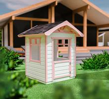 Детский домик из дерева 1х1 м. - Садовая мебель и декор в Севастополе