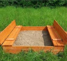 Песочница из дерева - Садовая мебель и декор в Севастополе