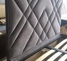 """Интерьерная кровать с мягким изгололвьем """"Геометрия"""" 1,8х2 - Мебель для спальни в Симферополе"""