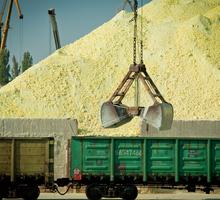 Поставка инертных материалов железнодорожным транспортом - Сыпучие материалы в Крыму