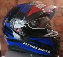 Шлем MT thunder effect(Размер M) - Мотоаксессуары, экипировка в Севастополе