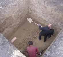 Землекопы, земельные работы, копка траншей, котлованов, выгребных ям - Проектные работы, геодезия в Крыму