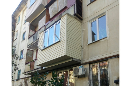УВЕЛИЧЕНИЕ Балкона/лоджии (ДОСТУПНО!) РЕМОНТ и др., фото — «Реклама Севастополя»